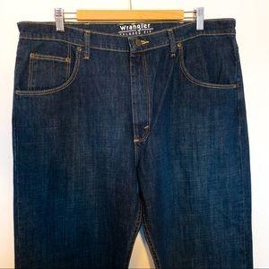 Wrangler Men Size 38x30 Jeans Western Cowboy